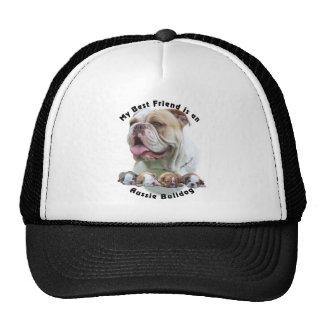 Dogo australiano 1 del mejor amigo gorras de camionero