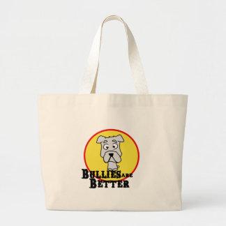Dogo blanco bolsa de mano