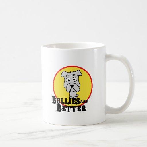 Dogo blanco taza