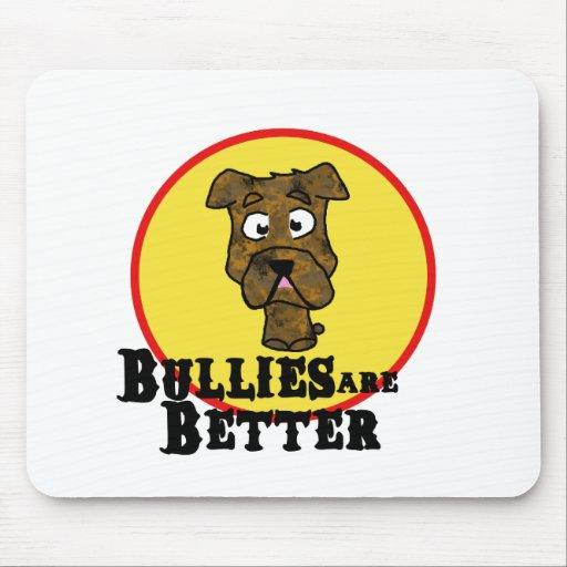 Dogo Brindle/Mastif (los matones son mejores) Tapetes De Ratón