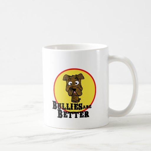 Dogo Brindle/Mastif (los matones son mejores) Taza De Café