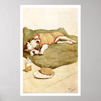 Dogo con una enfermedad misteriosa posters