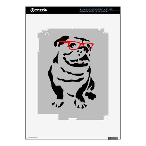 Dogo de Georgia del inconformista iPad 3 Skins