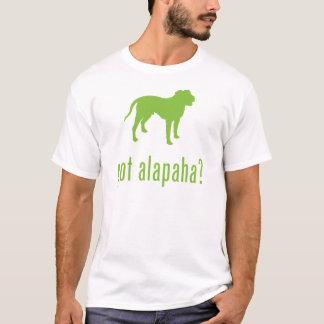 Dogo de la sangre azul de Alapaha Playera