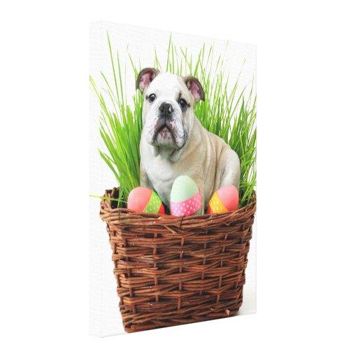Dogo de Pascua Lona Estirada Galerias