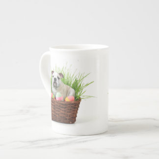 Dogo de Pascua Taza De Porcelana