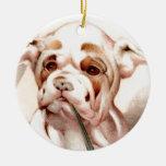 ¡Dogo del bebé - LINDO ESTUPENDO! Ornamento Para Arbol De Navidad