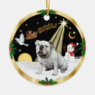 Dogo del inglés de NightFlight- Adorno De Navidad