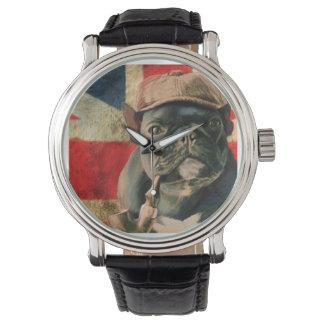 Dogo francés 2 reloj