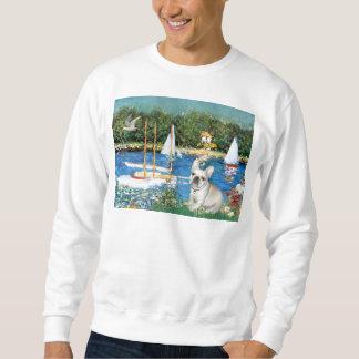 Dogo francés 3 - veleros suéter