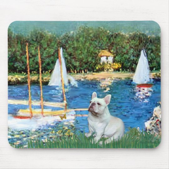 Dogo francés 4 - Sallboats Mousepads