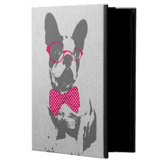 Dogo francés animal del vintage de moda divertido