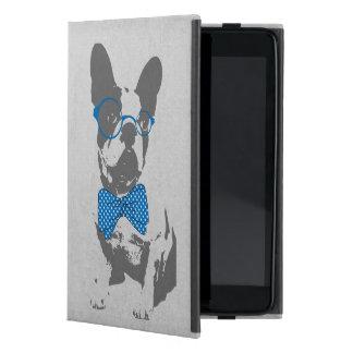 Dogo francés animal del vintage de moda divertido  iPad mini carcasas