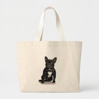 Dogo francés bolsas de mano