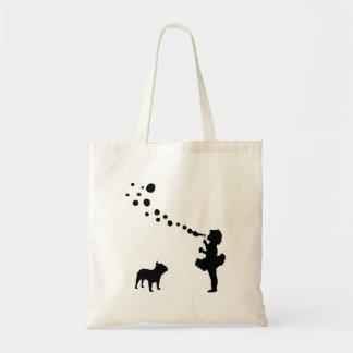 Dogo francés bolsa de mano
