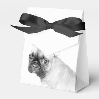 Dogo francés caja para regalo de boda