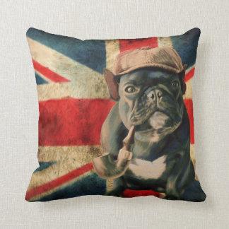Dogo francés cojín decorativo