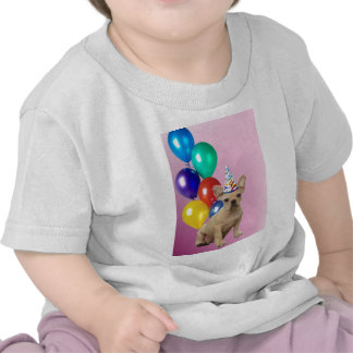 Dogo francés de Birthay Camisetas