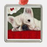 Dogo francés de los sueños dulces adornos