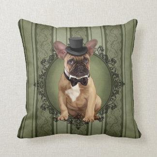 Dogo francés del caballero almohadas