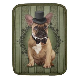 Dogo francés del caballero mangas de iPad