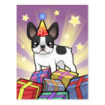 Dogo francés del cumpleaños postales