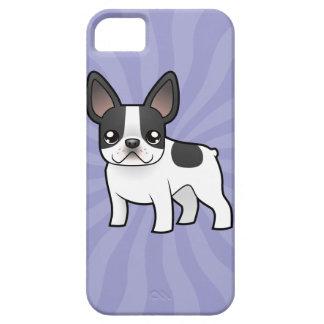 Dogo francés del dibujo animado iPhone 5 Case-Mate funda