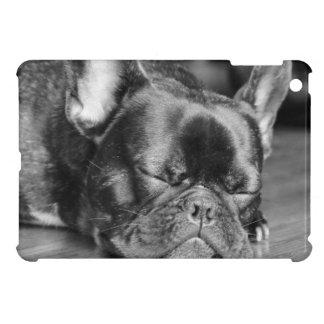 Dogo francés el dormir iPad mini coberturas
