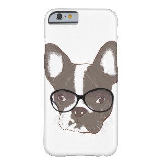 Dogo francés elegante funda de iPhone 6 barely there