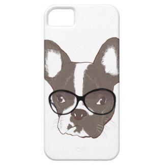 Dogo francés elegante iPhone 5 cárcasa