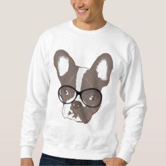 Dogo francés elegante sudaderas encapuchadas