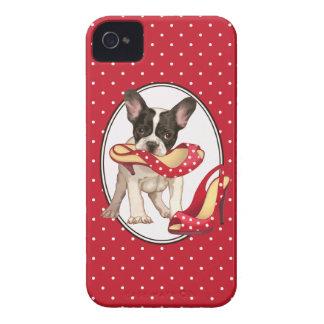 Dogo francés iPhone 4 Case-Mate cobertura