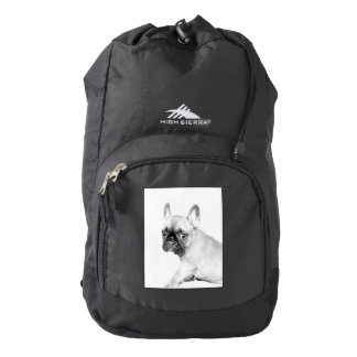 Dogo francés mochila