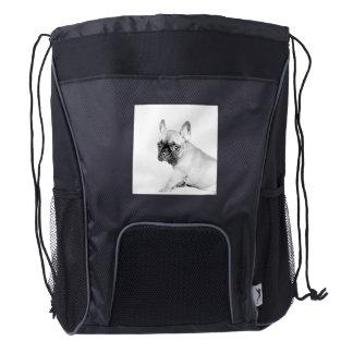 Dogo francés mochila de cordón