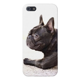 Dogo francés iPhone 5 carcasa