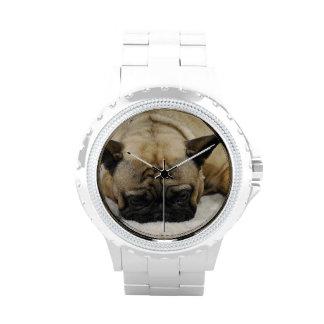 Dogo francés lindo relojes de pulsera