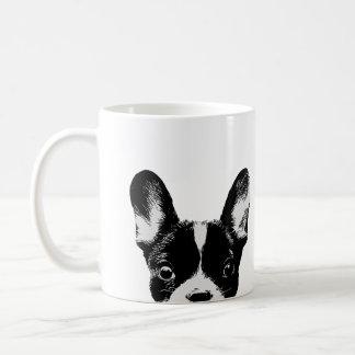 Dogo francés lindo taza