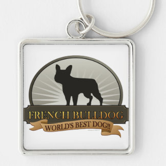 Dogo francés llavero
