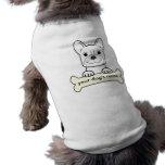 Dogo francés personalizado camisetas de perro