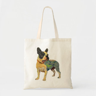 Dogo francés pintado lindo