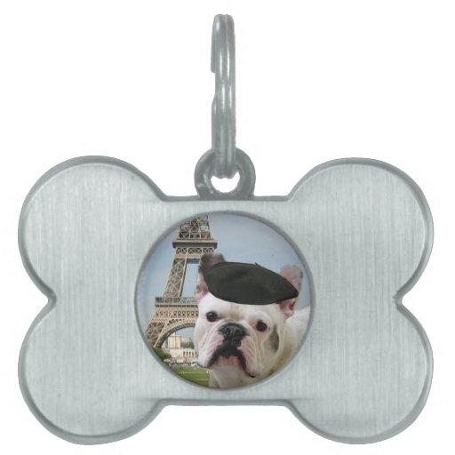Dogo francés placas mascota
