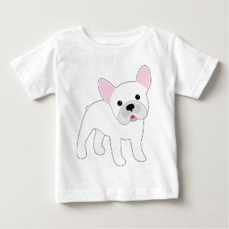 Dogo francés playera de bebé