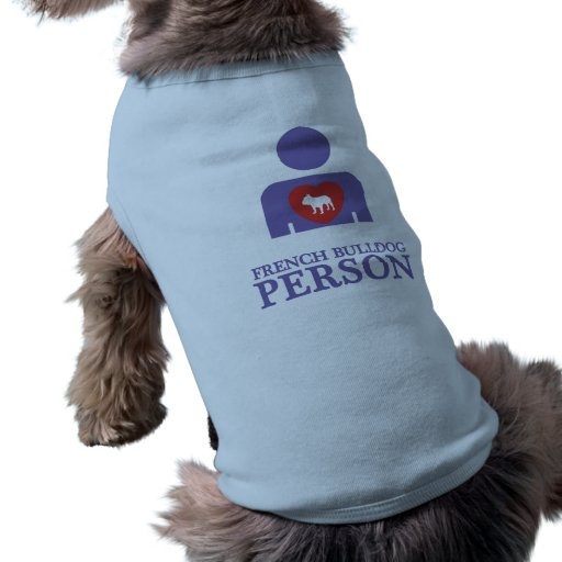 Dogo francés playera sin mangas para perro