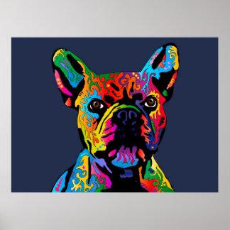 Dogo francés póster