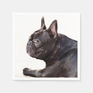 Dogo francés servilleta de papel