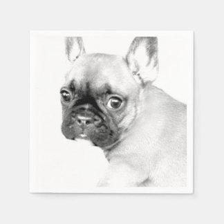 Dogo francés servilleta desechable