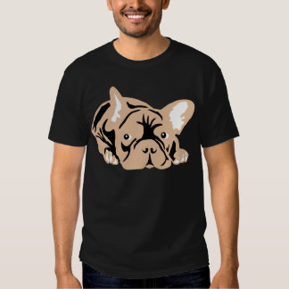 Dogo francés subió camisas