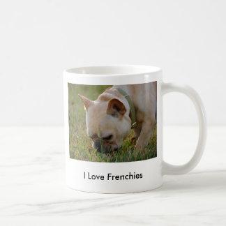 Dogo francés taza de café