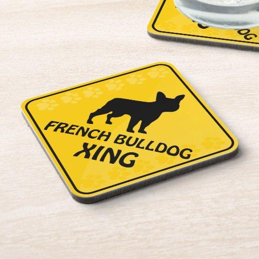 Dogo francés Xing Posavasos De Bebida