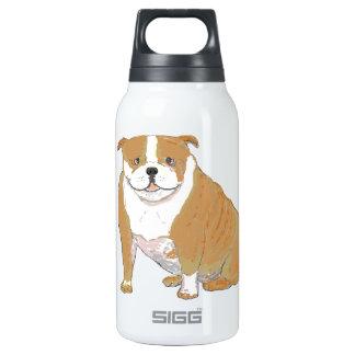 Dogo grande encendido y múltiplo botella isotérmica de agua